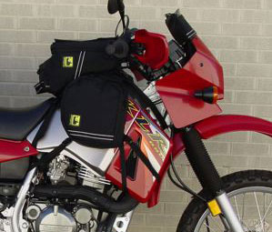 Wolfman Cordura Tank Panniers. Made in USA with Lifetime Warranty
