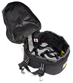 Peak Tail Bag by Wolfman Luggage. Made in USA with Lifetime Warranty