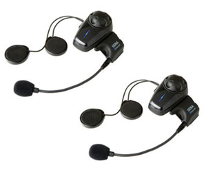 SENA SMH-10 Bluetooth Stereo Headset and Intercom for Motorcycles Dual Pack + Free USA Shipping