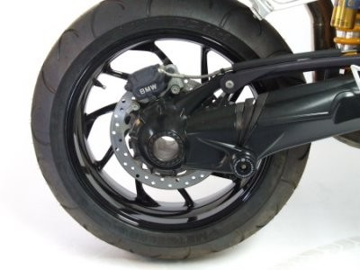 Rear Shaft / Axle Protector by R&G for BMW R1200GS/A & Liquid Cooled, HP2, K1200GT, '06-, K1200/1300R, K1200/1300S,& R1200S