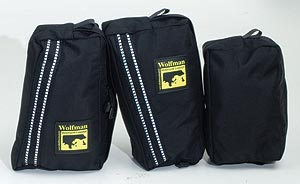 Large Pockets for Ranier & Explorer Tank Bags by Wolfman Luggage. MADE IN USA. LIFETIME WARRANTY