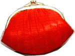 Double Coin Purse - Eelskin
