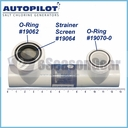"AutoPilot STK0224 19064 Strainer Screen for 2"" Union"
