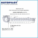 "AutoPilot 312-A,  Nut only for 2"" slip union"