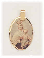 Our Lady of Camel Pendant