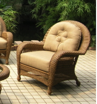 Erwin & Sons Wicker Chair Replacement Cushions
