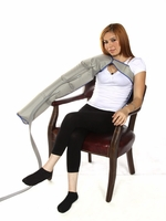 Gradient Sequential Compression Therapy - Complete Arm Set w/Shoulder & Strap