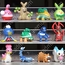 Pokemon Figures - Lot A