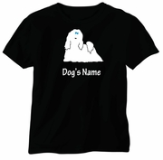 Maltese T-Shirt Personalized with Dog's Name