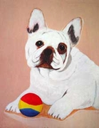 French Bulldog Original Artwork Print