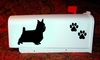 Silky Terrier Mail Box