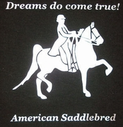American Saddlebred Dreams Do Come True! T-shirt
