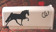 Tennessee Walking Horse Mail Box