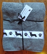 Cardigan Welsh Corgi Bath Towels