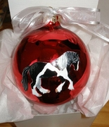 Gypsy Cob-Vanner Hand Painted Christmas Ornament