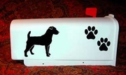 Jack Russell Terrier Mail Box