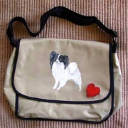Papillon Messenger Bag