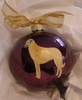 Anatolian Shepherd Dog Hand Painted Christmas Ornament