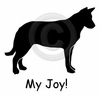 Beauceron My Joy! My Love! My Life! Long Sleeve T-Shirt