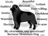 Bernese Mountain Dog Obsession T-Shirt