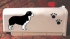Border Collie Mail Box