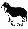 Border Collie My Joy! My Love! My Life! Long Sleeve T-Shirt