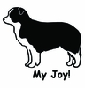 Border Collie My Joy! My Love! My Life! T-Shirt