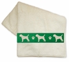 Border Terrier Bath Towels