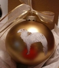 Borzoi Hand Painted Christmas Ornament