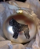 Bouvier des Flandres Hand Painted Christmas Ornament