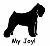 Bouvier des Flandres My Joy! My Love! My Life! Long Sleeve T-Shirt
