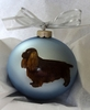 Sussex Spaniel Hand Painted Christmas Ornament