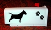 Bull Terrier Mail Box