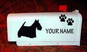 Scottish Terrier Mail Box
