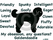 Goldendoodle Obsession Long Sleeve Tshirt