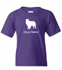 Dog Breed T-Shirt Personalized with Name