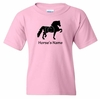Horse Breed T-Shirt Personalized with Name