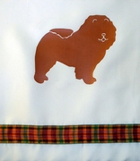Chow Chow Shower Curtain