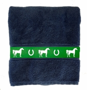 Bath Towel - Horse Breed