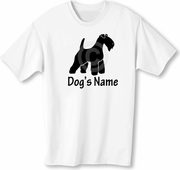 Lakeland Terrier T-Shirt Personalized with Dog's Name