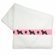 Tibetan Terrier Bath Towels