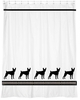Toy Fox Terrier Shower Curtain