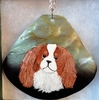 Cavalier King Charles Spaniel Hand Painted Necklace / Pendant