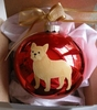 French Bulldog Hand Painted Christmas Ornament