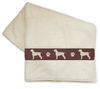 German Wirehaired Pointer Bath Towels