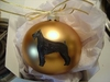 Giant Schnauzer Hand Painted Christmas Ornament