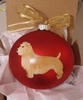 Glen of Imaal Terrier Hand Painted Christmas Ornament
