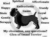 Glen of Imaal Terrier Obsession T-Shirt