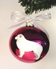 Great Pyrenees Hand Painted Christmas Ornament