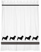Glen of Imaal Terrier Shower Curtain